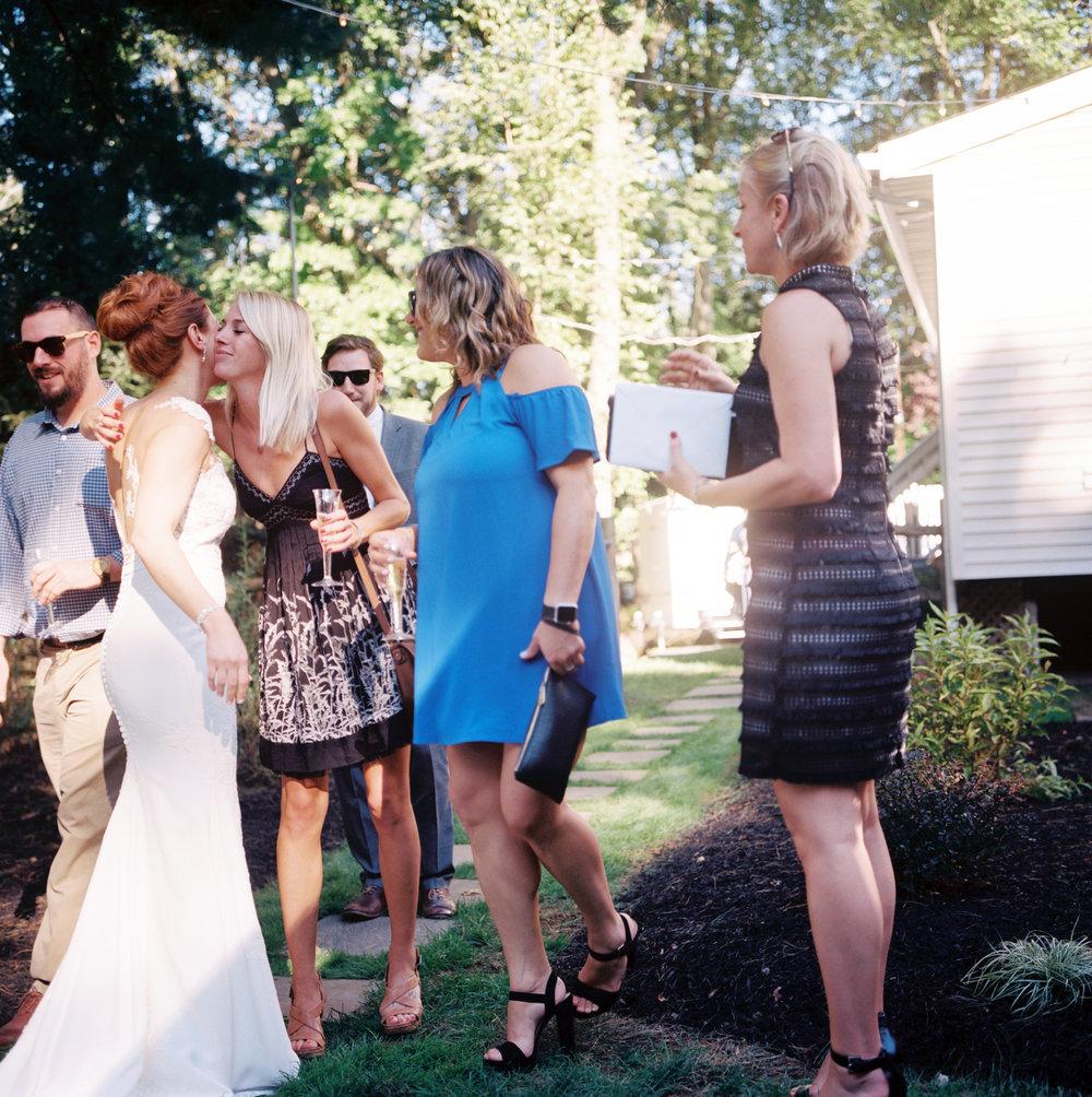 Backyard Wedding Reception- Film Photography- New Jersey- Olivia Christina Photography.jpg