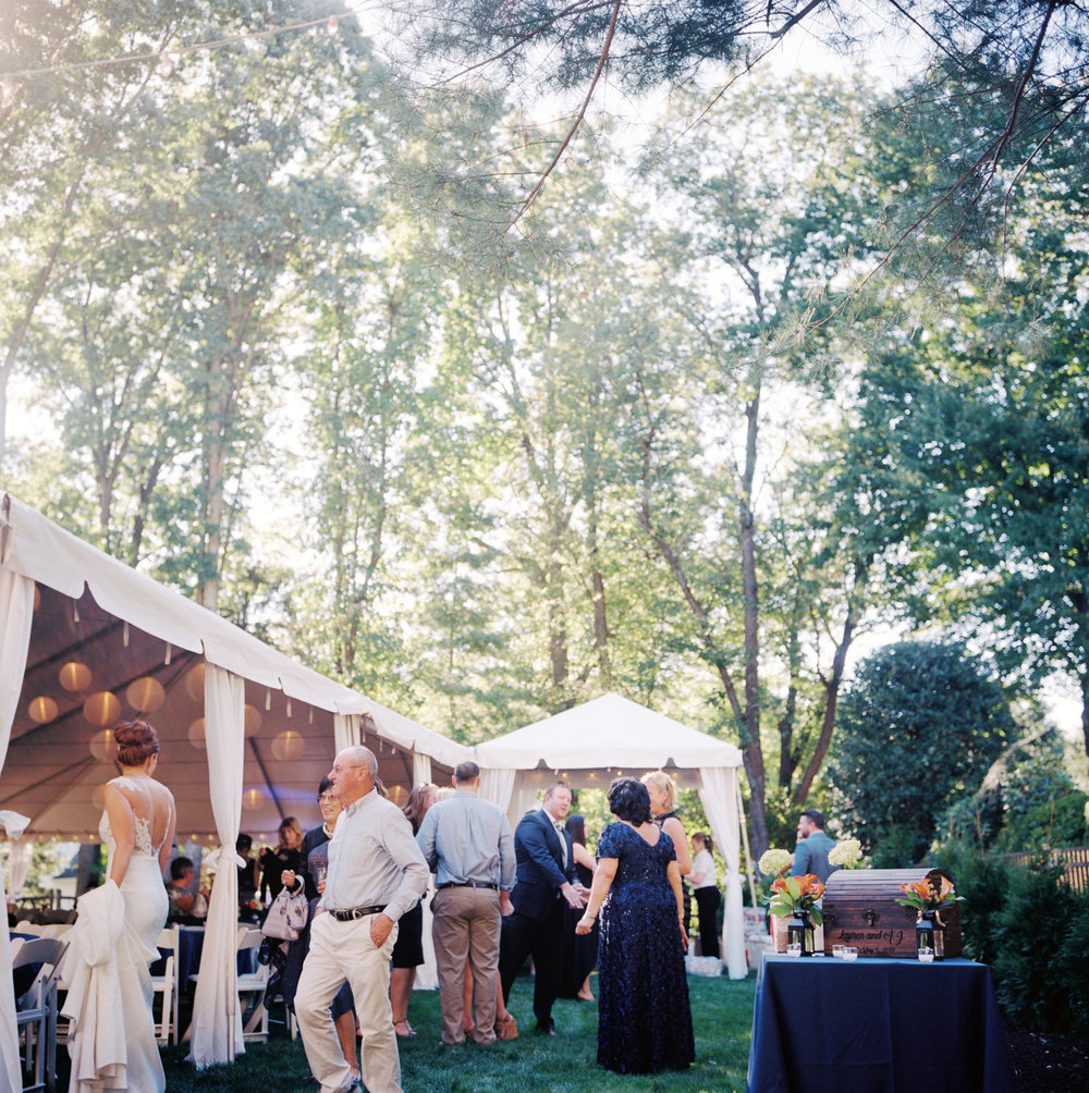 Backyard Tent Wedding Reception- New Jersey- Olivia Christina Photography.jpg