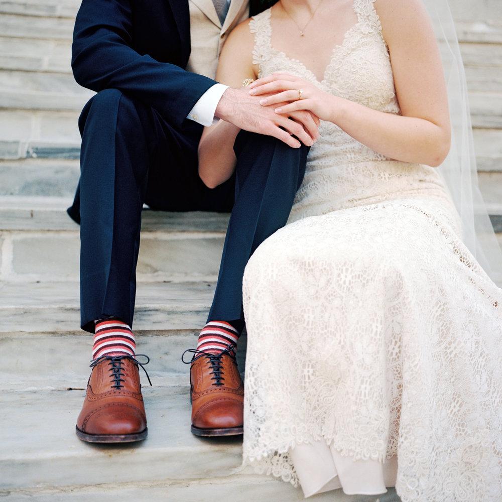 Fun Groom Socks- Film Photography- Princeton New Jersey Weddings- Olivia Christina Photography.jpg