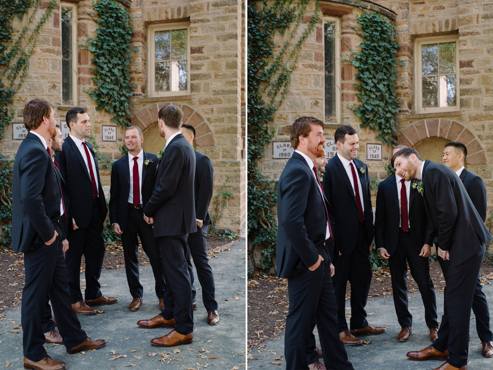 Chelsea+James- Groom and Groomsmen Portraits- Princeton University Campus Wedding- Olivia Christina Photo.jpg