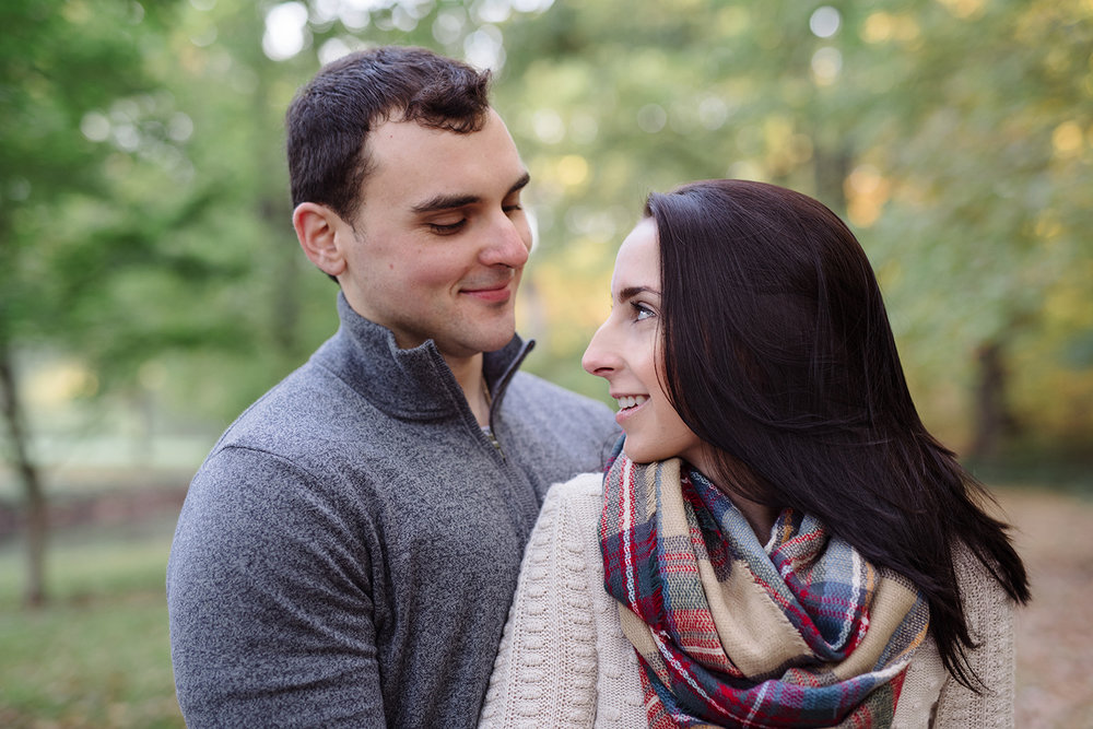 Melissa+Jeff- Local Park Engagement Session with Dog- Booth Park Nutley- New Jersey-Olivia Christina Photo-21.jpg