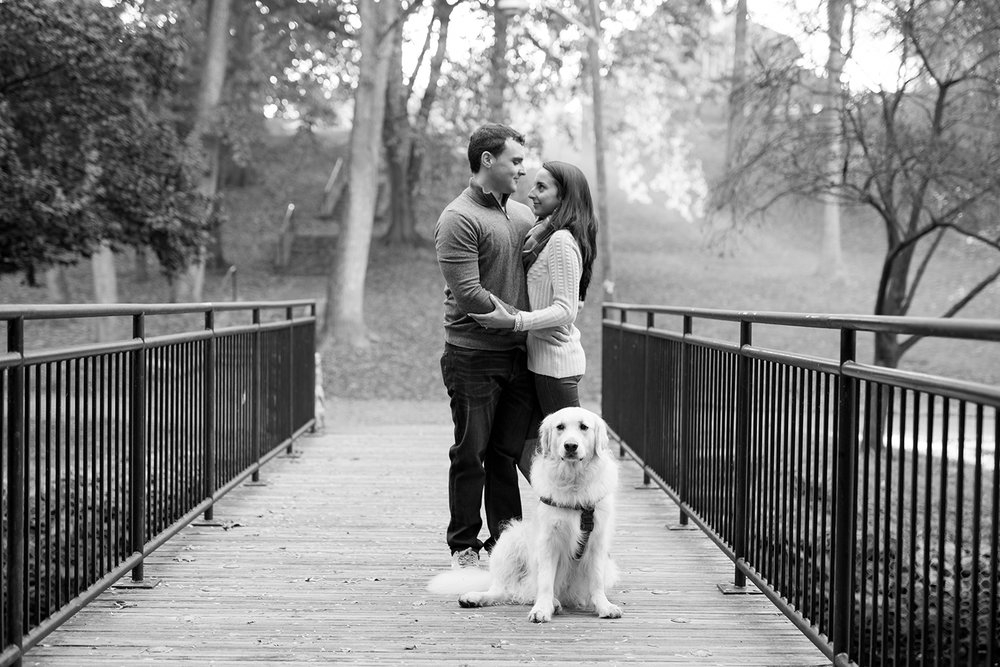 Melissa+Jeff- Local Park Engagement Session with Dog- Booth Park Nutley- New Jersey-Olivia Christina Photo-25.jpg