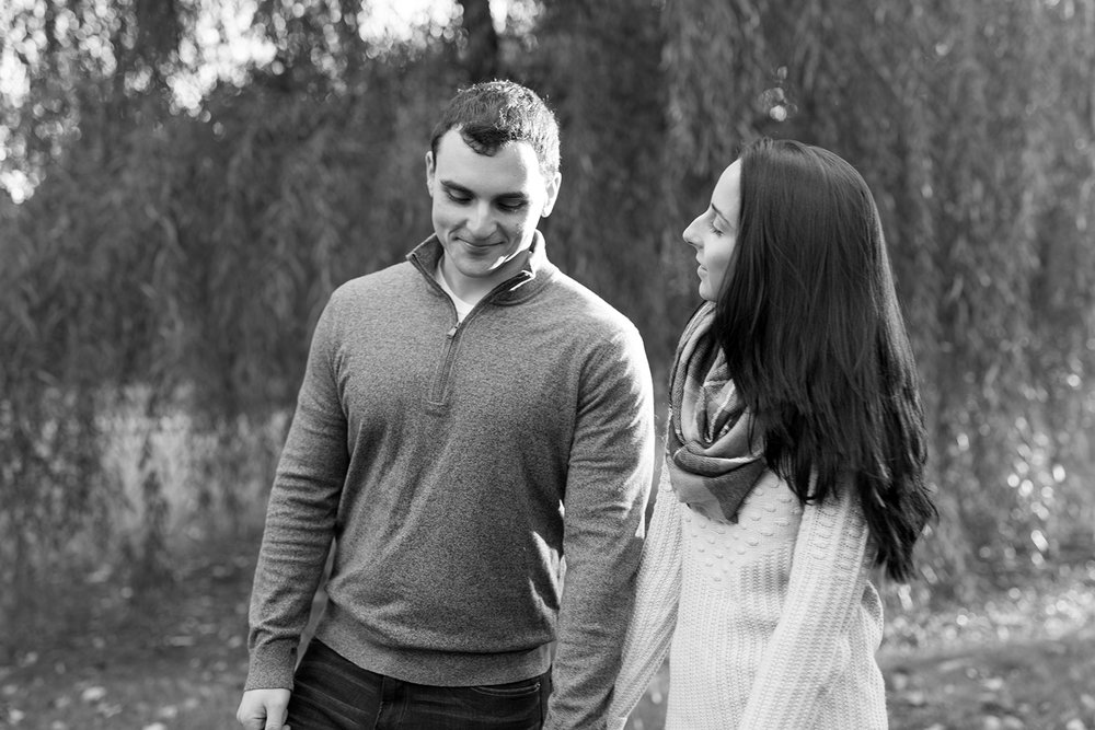 Melissa+Jeff- Local Park Engagement Session with Dog- Booth Park Nutley- New Jersey-Olivia Christina Photo-45.jpg