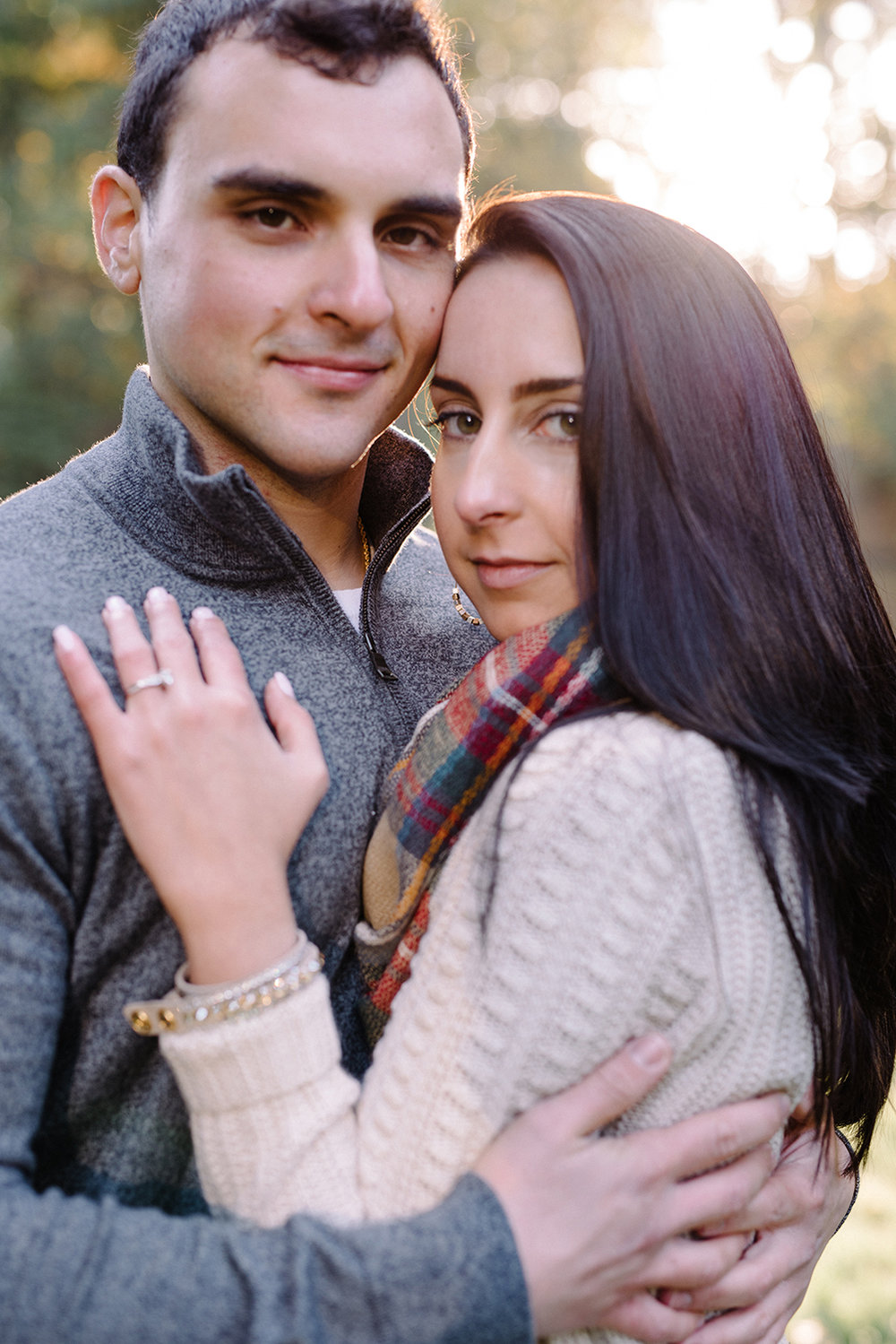 Melissa+Jeff- Local Park Engagement Session with Dog- Booth Park Nutley- New Jersey-Olivia Christina Photo-51.jpg