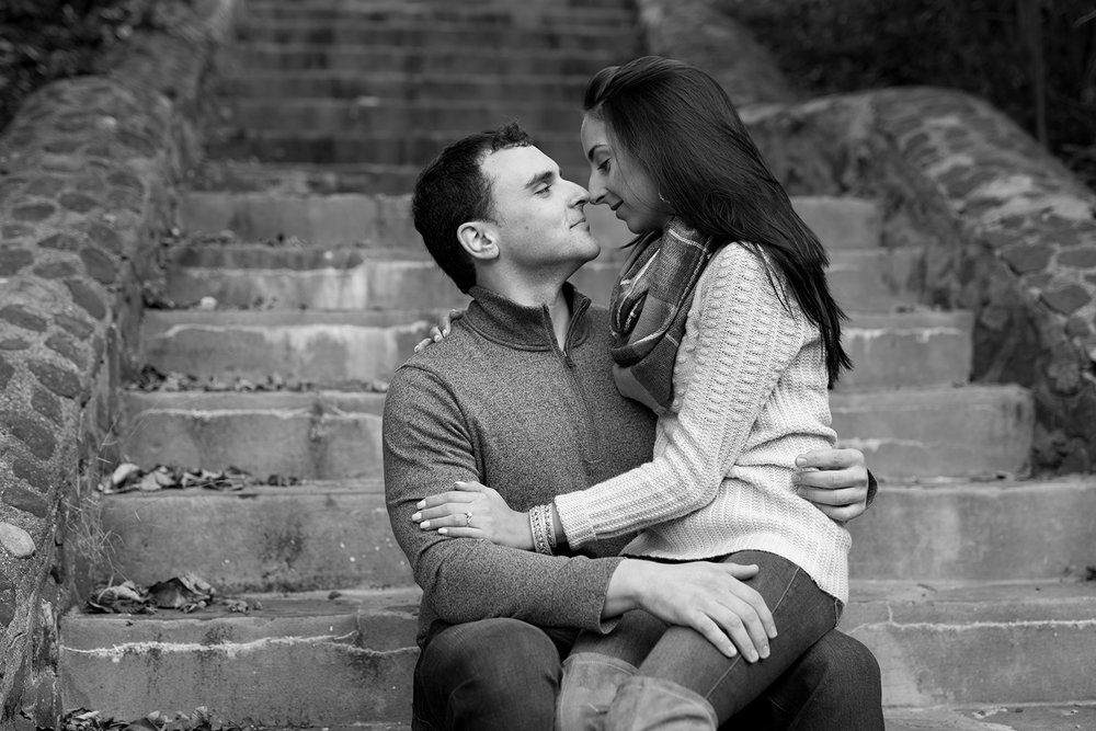 Melissa+Jeff- Local Park Engagement Session with Dog- Booth Park Nutley- New Jersey-Olivia Christina Photo-61.jpg