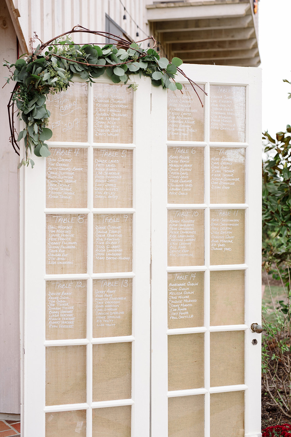 Jess+John- Edel Haus Alpaca Farm Wedding- Glass Door Seating Chart- Wall New Jersey- Olivia Christina Photo-1.JPG