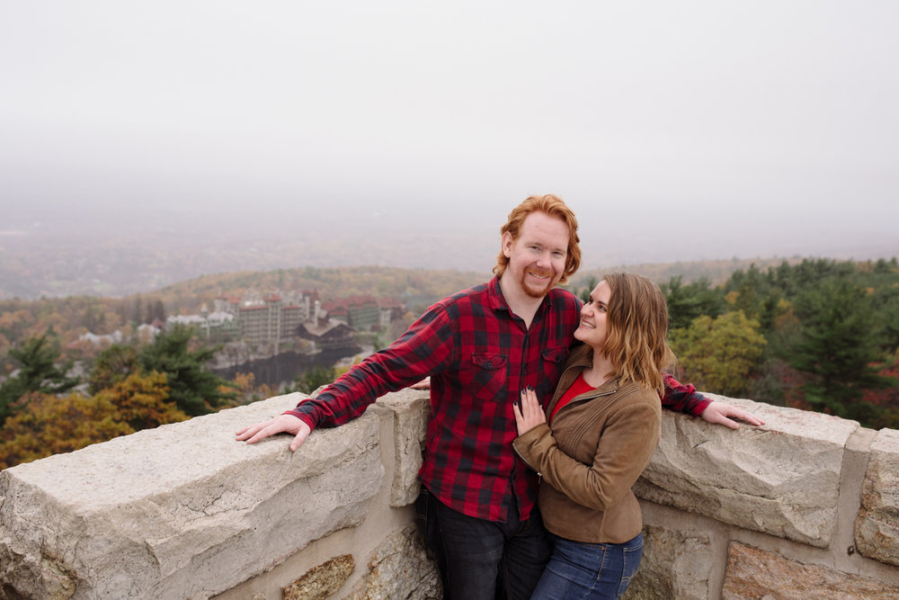 Kayte+ Kevin-Mohonk Mountain Hiking Engagement Session- New Paltz New York- Olivia Christina Photo- (110).JPG