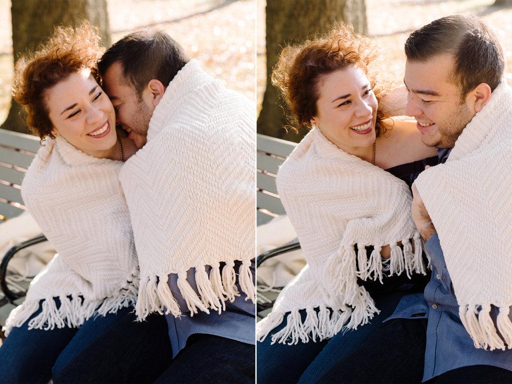 Melissa+Kenny- Watsessing Park Fall Engagement Session-Cuddling Under Blanket- Bloomfield New Jersey- Olivia Christina Photo.JPG