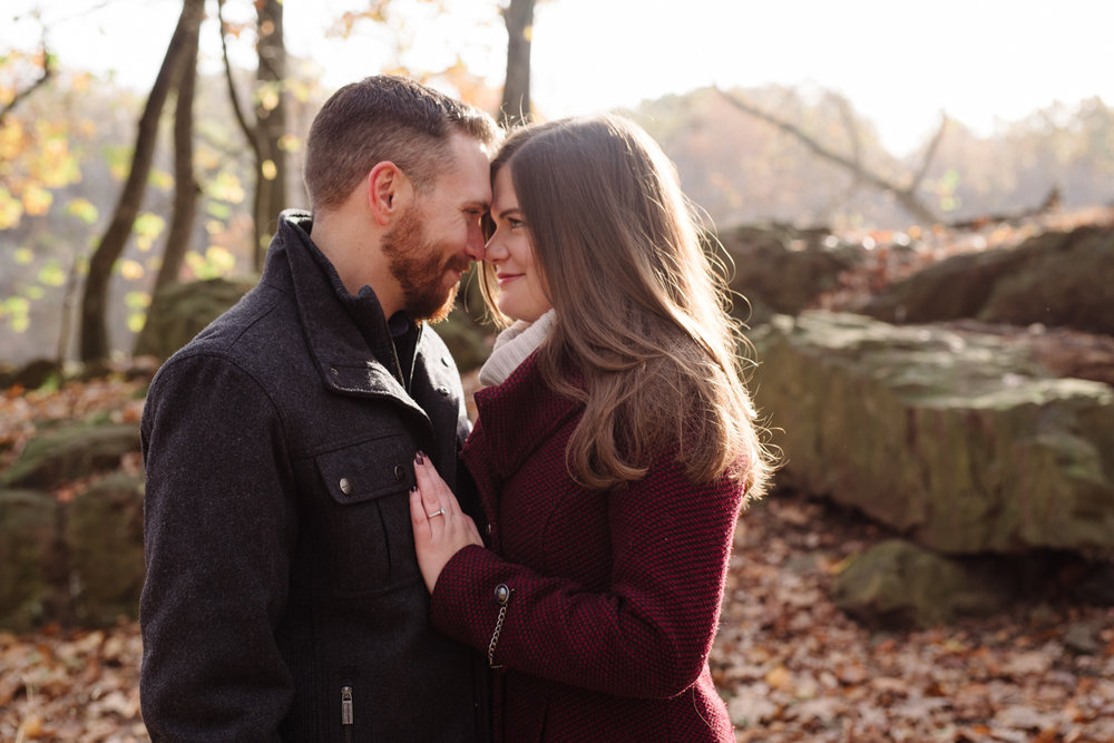Amy+Brian- Garret Mountain Engagement Session- Fall Nature- Film Photography-New Jersey- Olivia Christina Photo-24.JPG