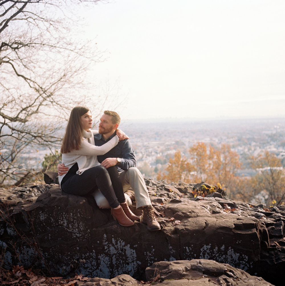 Amy+Brian- Garret Mountain Engagement Session- Fall Nature- Film Photography-New Jersey- Olivia Christina Photo-5.JPG