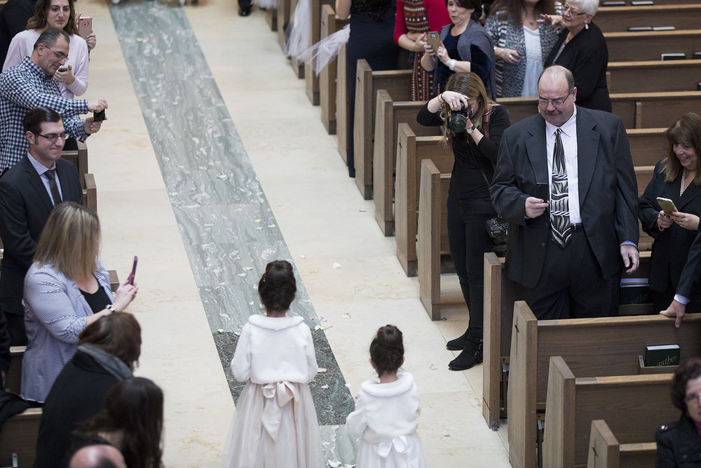 BTS- Holy Family Church Wedding- Photographing Flower Girls- Olivia Christina Photography.jpg