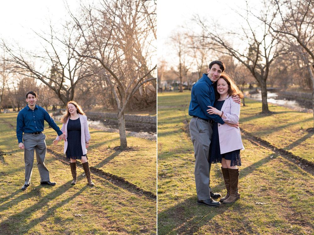 Kelsey+Bill-Sunset Engagement Session-Candid- Kingsland Park Nutley NJ- Olivia Christina Photography.jpg
