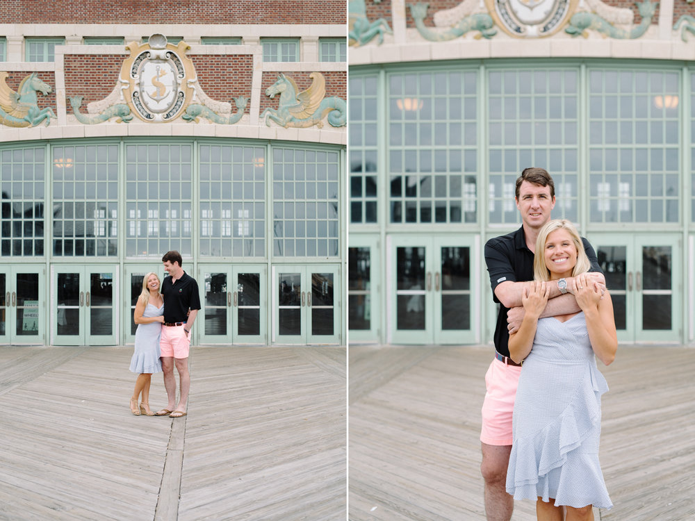 Angela+Troy- Sunrise Beach Engagement Session-Asbury Park Convention Hall- Avon By The Sea New Jersey- Olivia Christina Photo-1.jpg