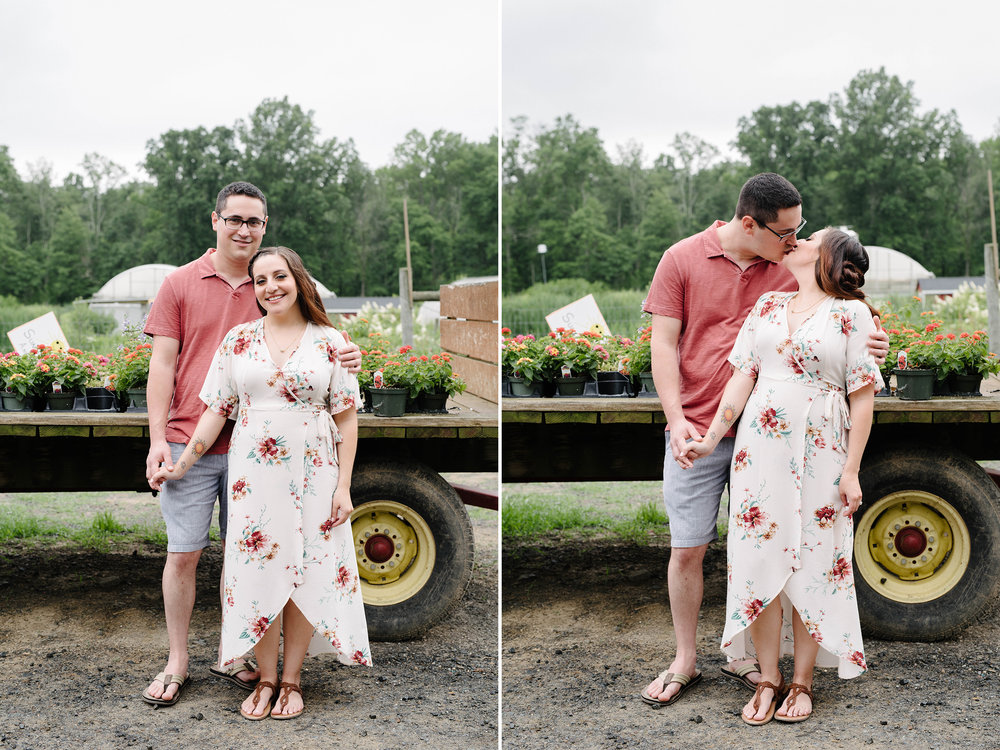 Terhune Orchards Engagement Session-Flatbed Flower Truck- Princeton New Jersey- Olivia Christina Photography.jpg