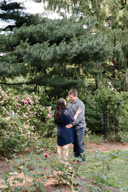 Jen + Kevin- Brookdale Park Rose Garden Engagement Session- Bloomfield New Jersey- Olivia Christina Photo-9.jpg