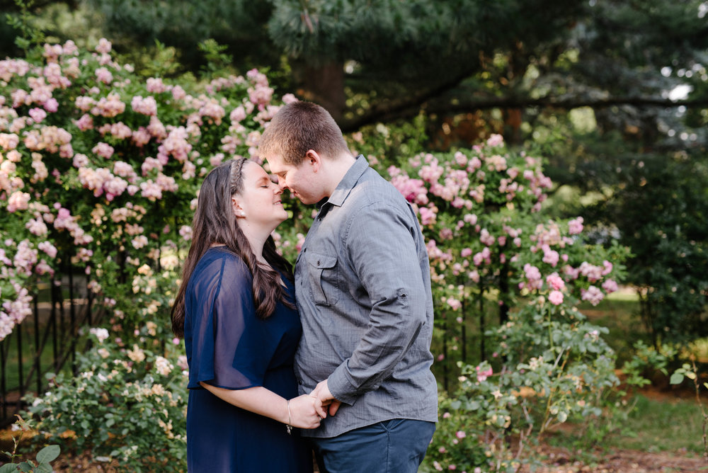 Jen + Kevin- Brookdale Park Rose Garden Engagement Session- Bloomfield New Jersey- Olivia Christina Photo-12.jpg