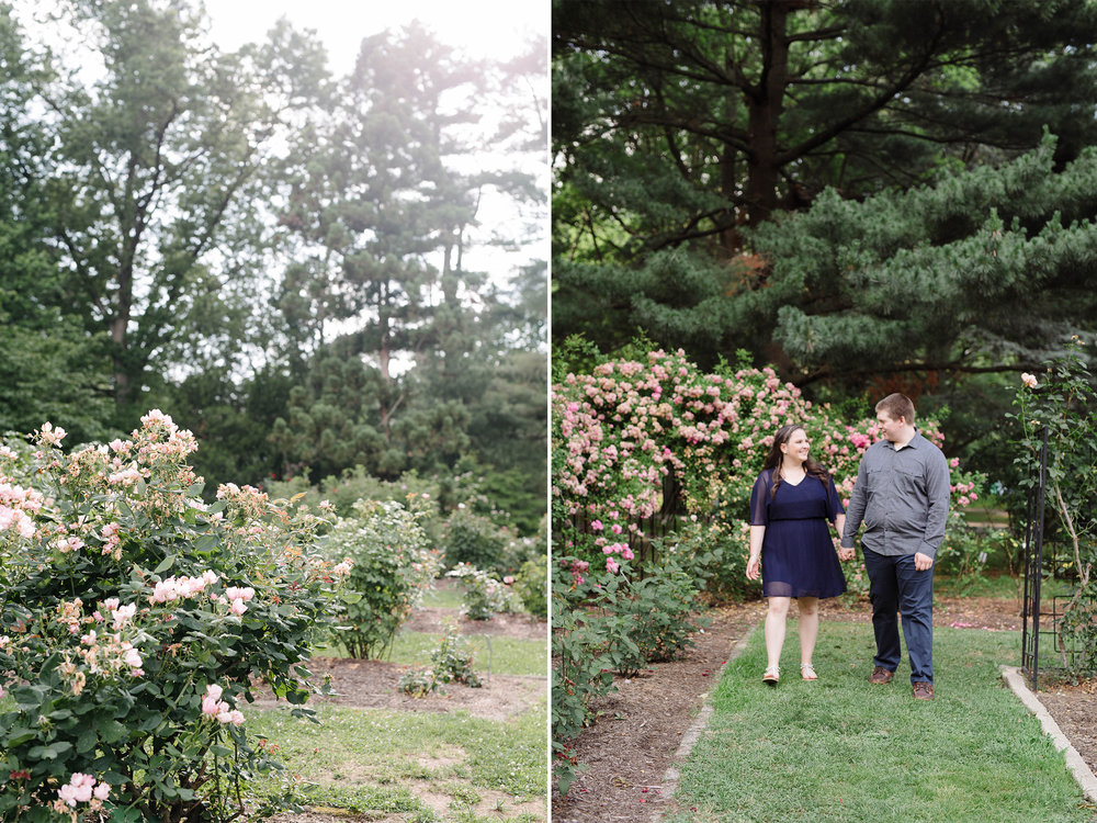 Brookdale Rose Garden- Engagement Photos- Golden Hour- Bloomfield New Jersey- Olivia Christina Photo.jpg