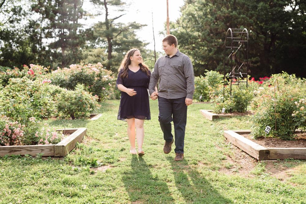Jen + Kevin- Brookdale Park Rose Garden Engagement Session- Bloomfield New Jersey- Olivia Christina Photo-40.jpg