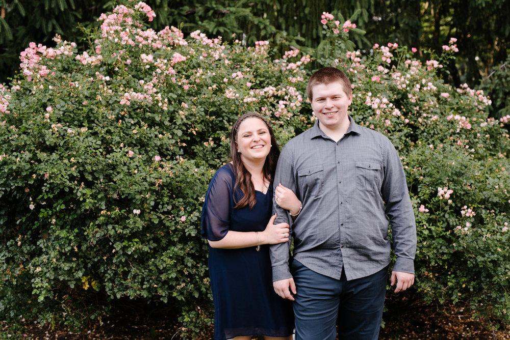 Jen + Kevin- Brookdale Park Rose Garden Engagement Session- Bloomfield New Jersey- Olivia Christina Photo-50.jpg