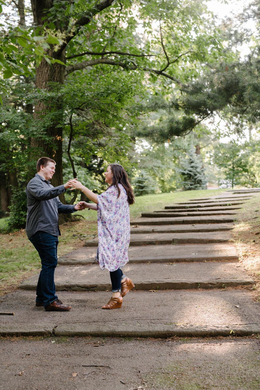 Jen + Kevin- Brookdale Park Rose Garden Engagement Session- Bloomfield New Jersey- Olivia Christina Photo-62.jpg