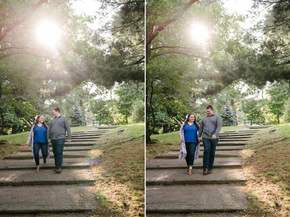 Brookdale Rose Garden- Engagement Photos- Golden Hour Backlighting- Bloomfield New Jersey- Olivia Christina Photo.jpg