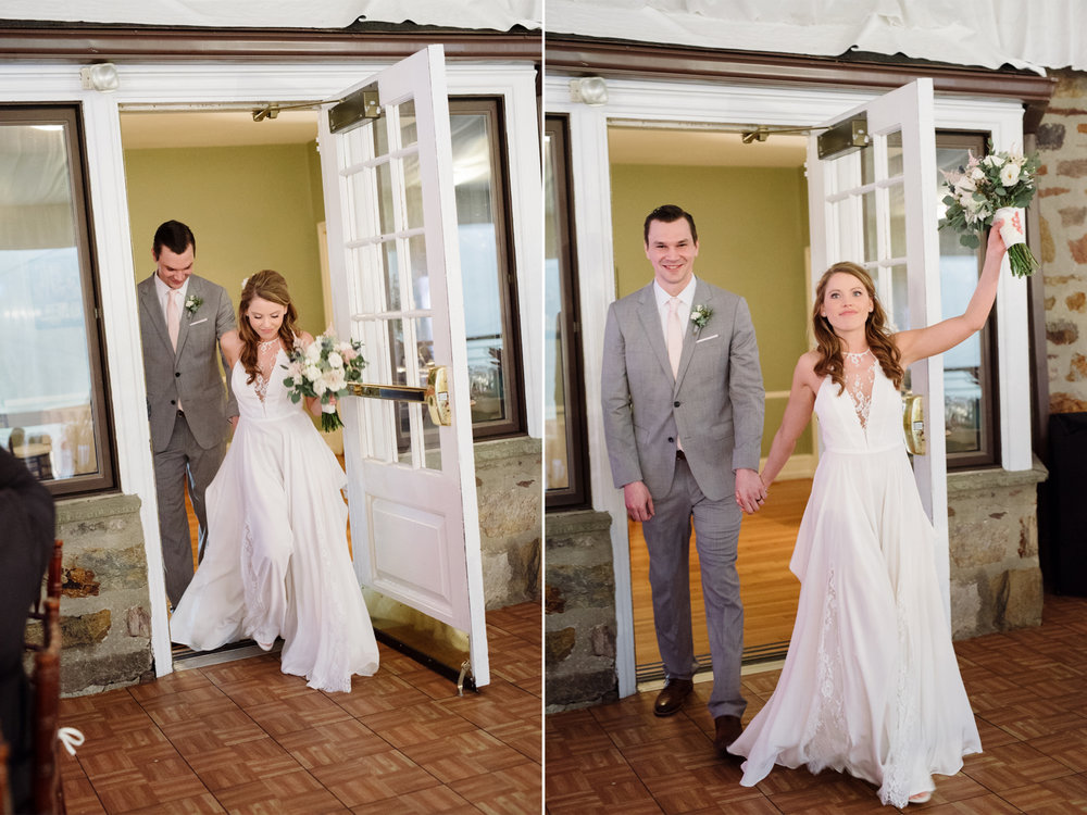 The Manor House at Prophecy Creek- Steph and Rob- Bride and Groom Reception Entrance- Pennsylvania- Olivia Christina Photo.jpg