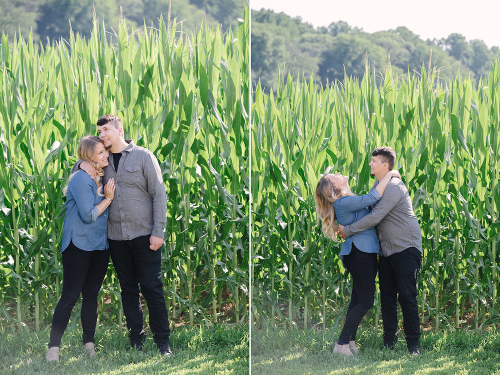 Updike Farm Engagement Session- Amanda and Pete-Corn Fields- Princeotn New Jersey- Olivia Christina Photo.jpg