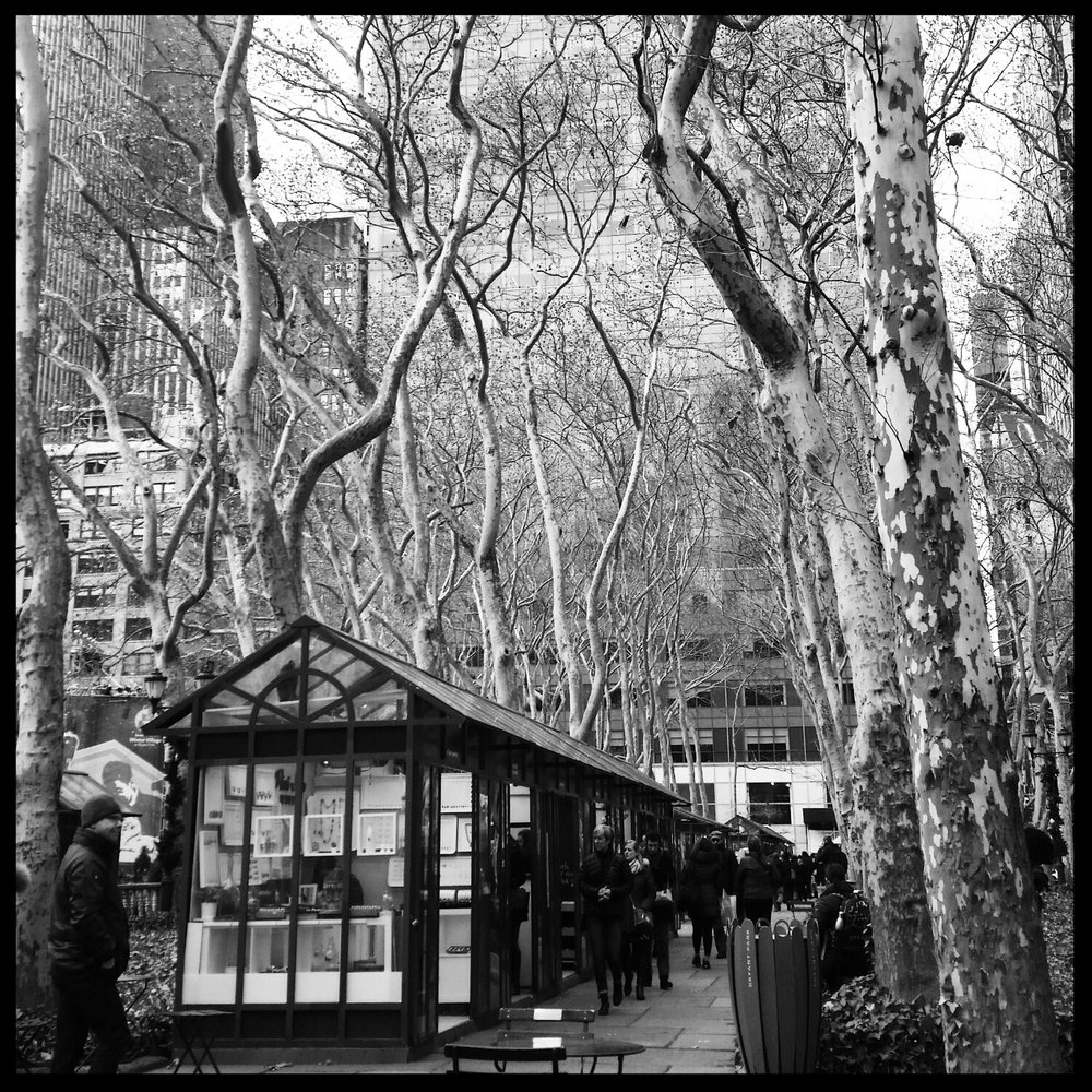 Bryant Park Christmas Shops, NYC
