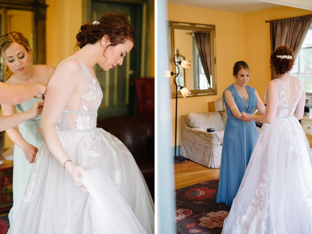 Feast at Round Hill Wedding-Kenny + Melissa- Bride Getting Ready with Mom-BHLDN Wedding Dress-Hudson Valley New York - Olivia Christina Photo-1.jpg