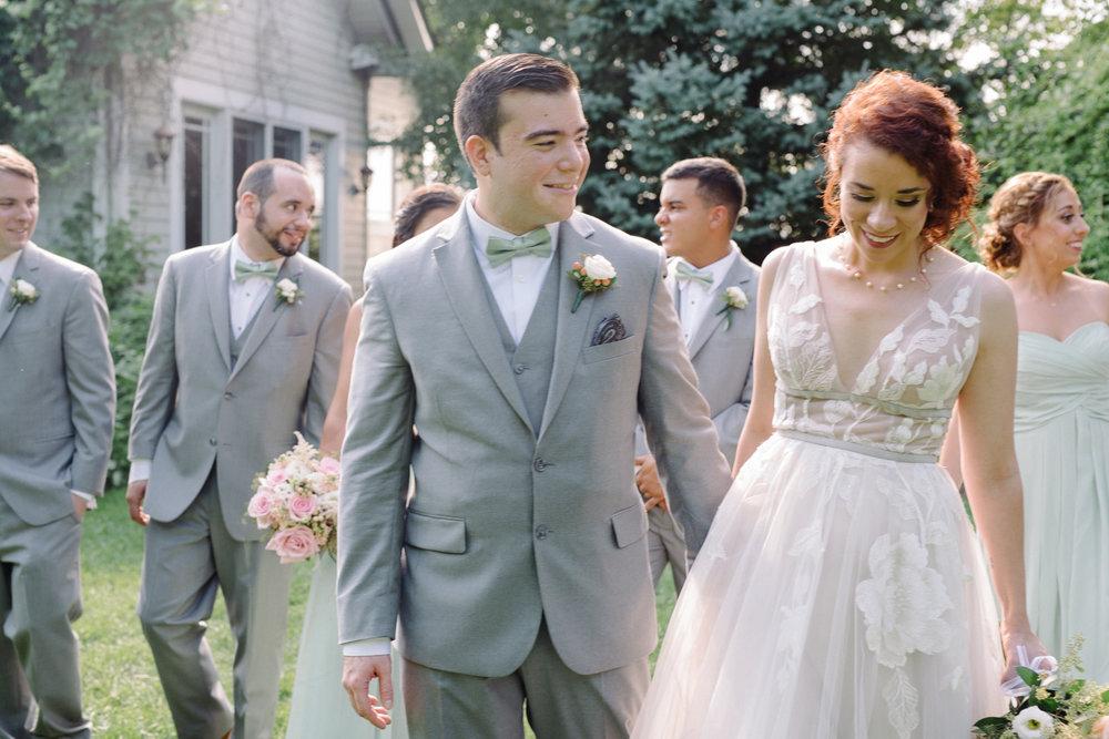 Feast at Round Hill- Hudson Valley Weddings- Kenny + Melissa- Bridal Party Portraits- Olivia Christina Photography.jpg
