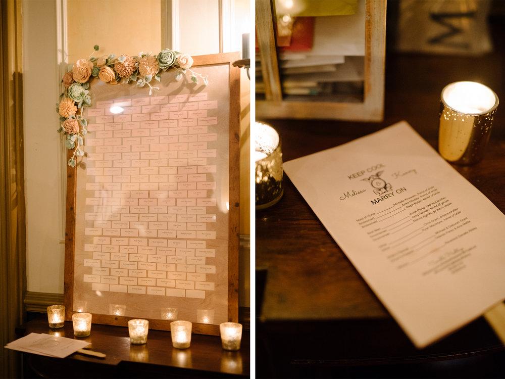 Feast at Round Hill Wedding-Kenny + Melissa-Seating Chart-Hudson Valley New York - Olivia Christina Photo-1.jpg