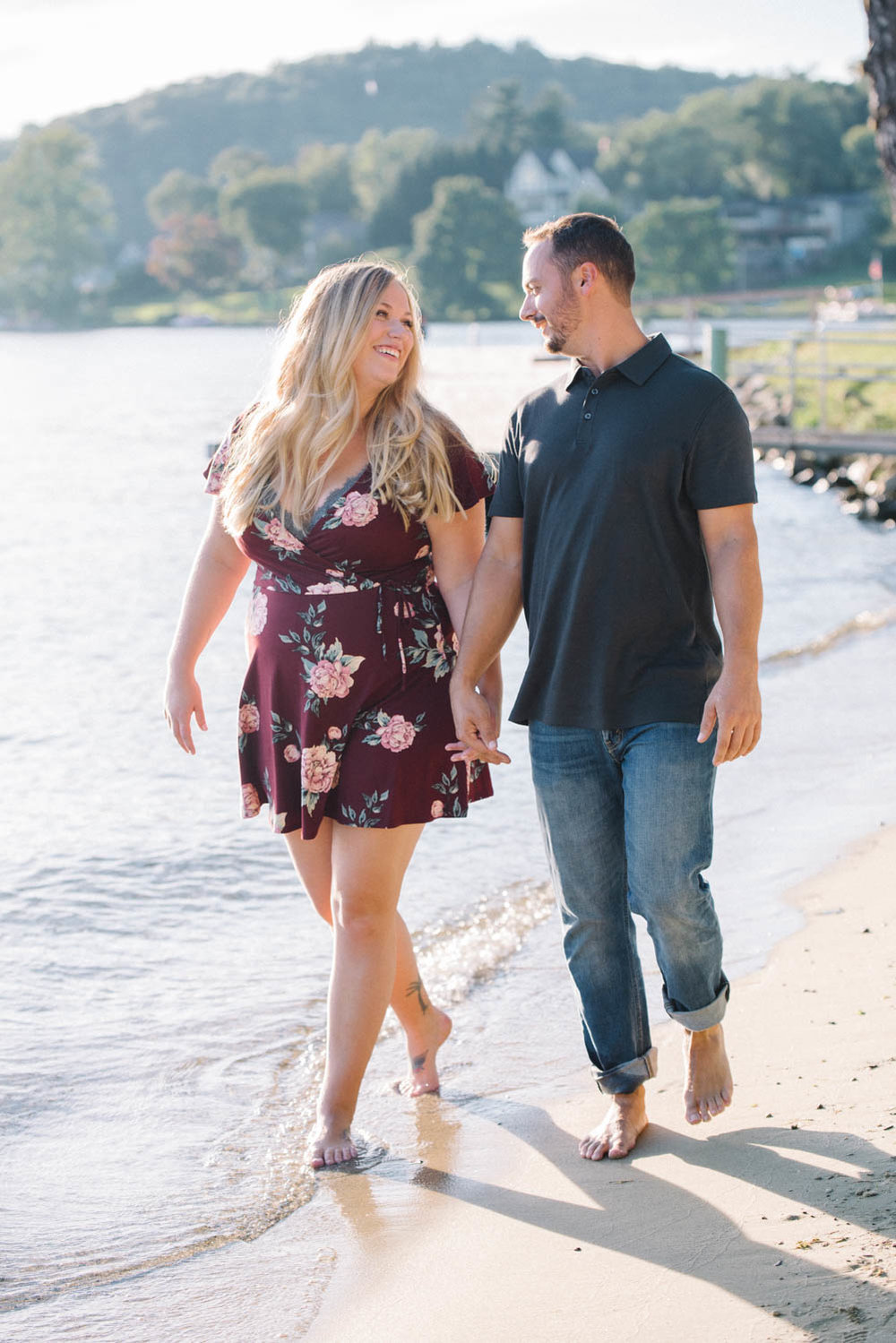 Lake Mohawk Engagement Session- Ally + CJ- Sparta New Jersey- Olivia Christina Photo-95.jpg