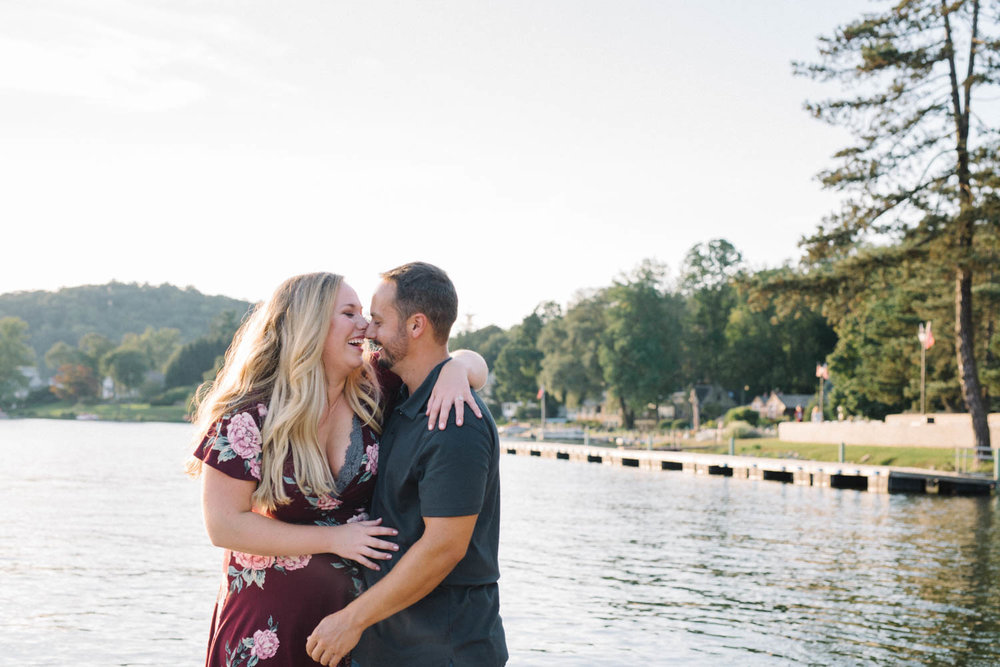 Lake Mohawk Engagement Session- Ally + CJ- Sparta New Jersey- Olivia Christina Photo-119.jpg