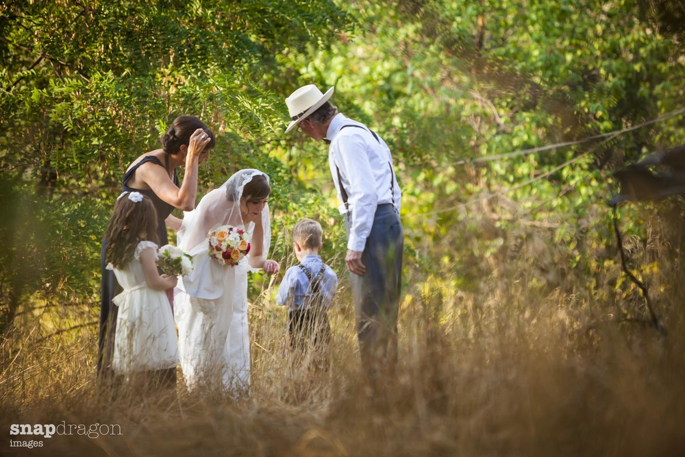 Farm Wedding, Omak Washington