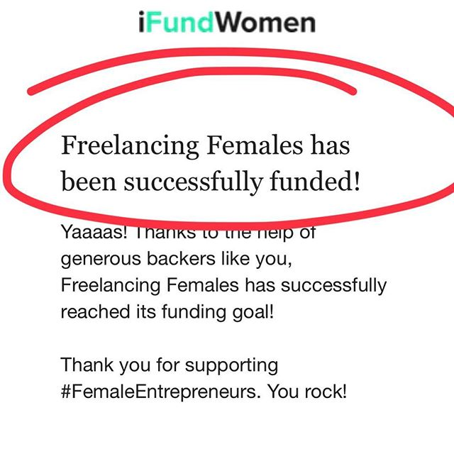 We did it! Today we raised $30,000 to help fund the next steps for @freelancingfemales. Thank you to friends, family & the @freelancingfemales community for helping us start 2019 strong. I can't wait to share with you what we have planned and launch our official website this year. Thank you all, I can't wait to shape the future of freelance for women around the globe with @freelancingfemales 💕