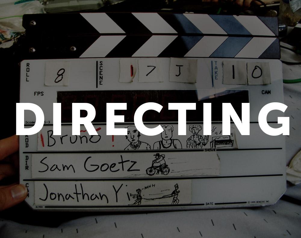 Written & Directed By Sam Goetz
