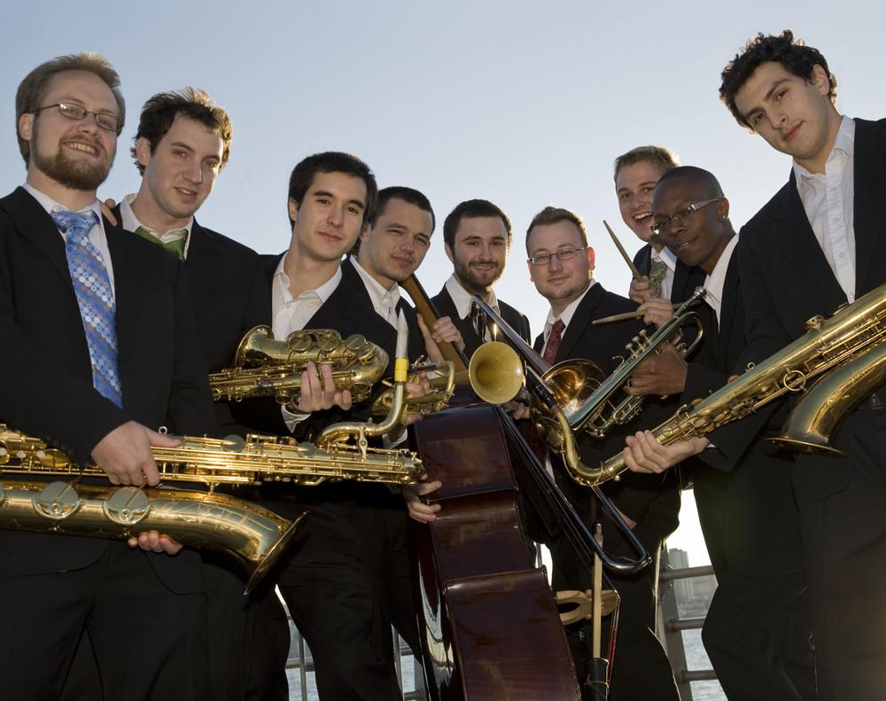 The Jazz Conceptions Orchestra Photo: Ingrid Hertfelder
