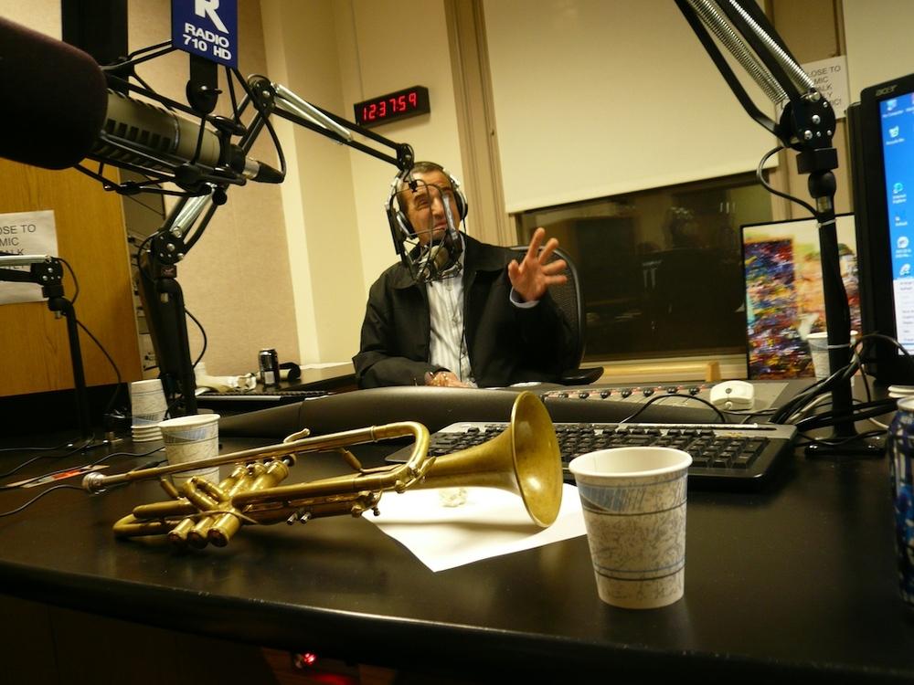 Dear friend Joey Reynold's all night radio show