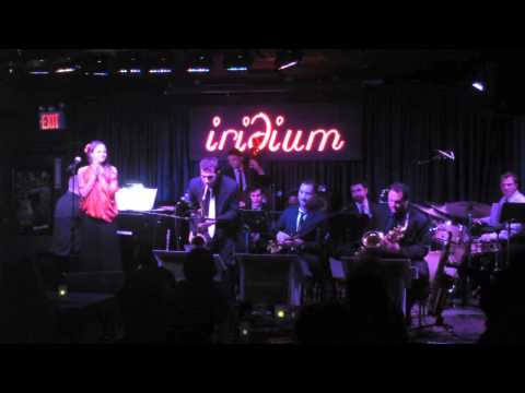 The Jazz Conceptions Orchestra with Annie Sellick at Iridium in New York.