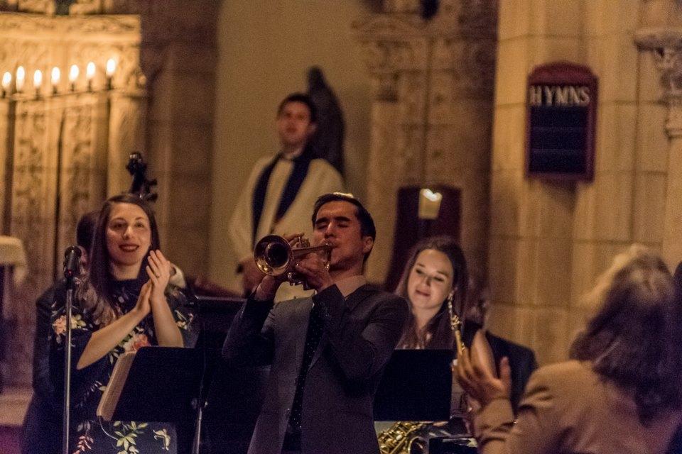 St. George's Jazz Vespers. Photo: Irina Hage