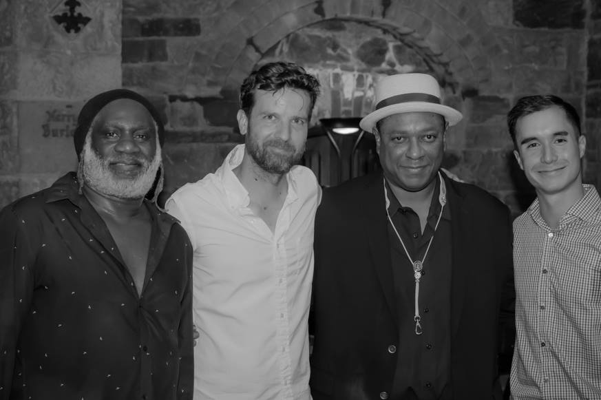 Frank Lacy, Dusty Brown, Vincent Herring - Photo: Irina Hage