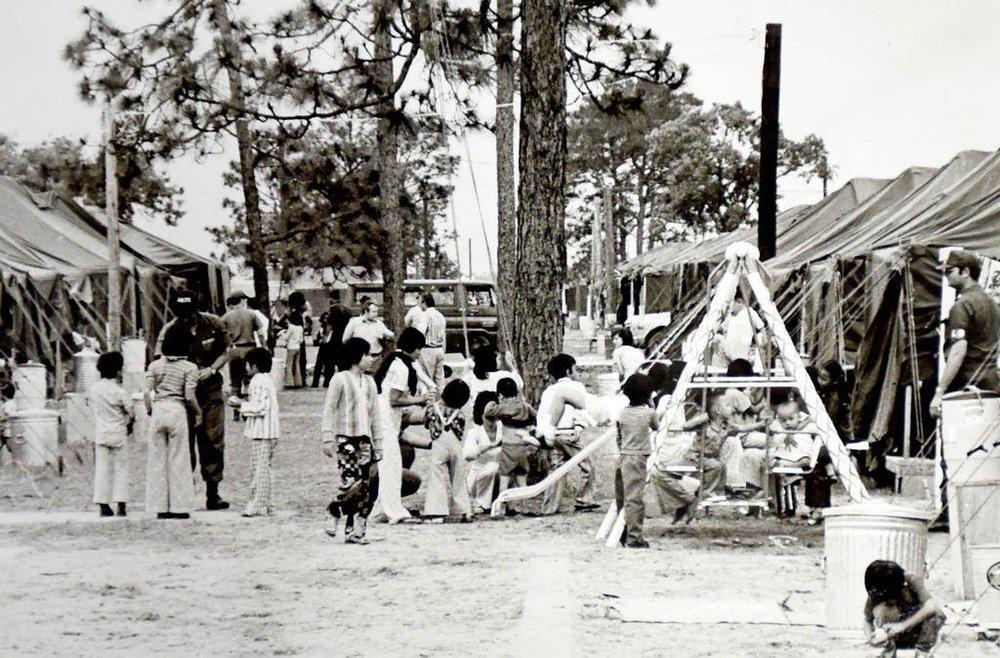 Vietnamese Refugee Processing Center at Eglin Air Force Base