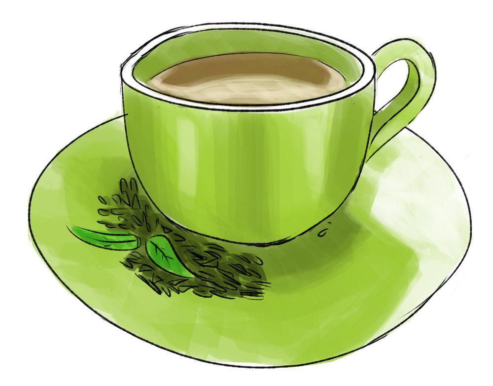 Green tea - antioxidants