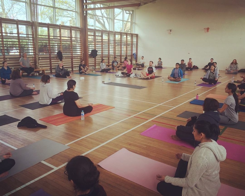 At the sold out BACK TO BASICS workshop earlier this year, how to meditate was explained in simple terms, and followed by a guided meditation practice.