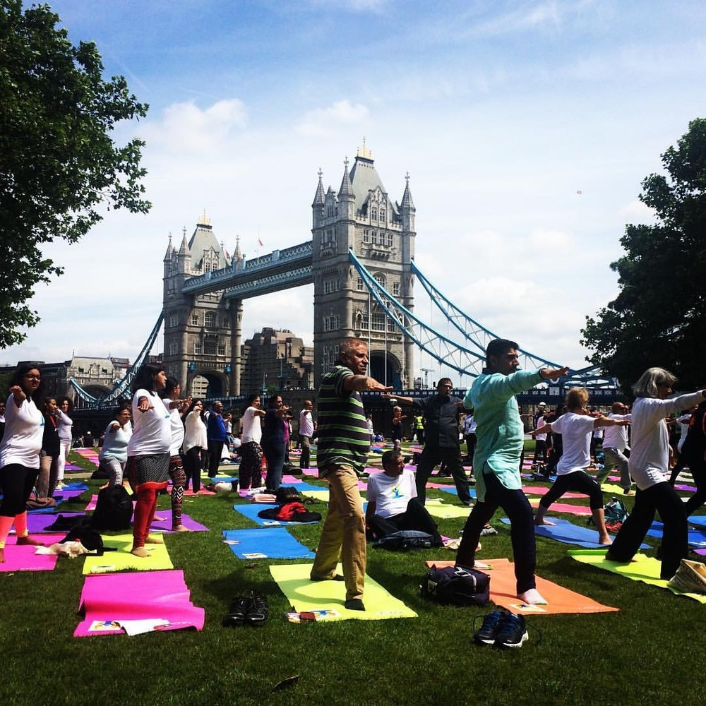 At this year's INTERNATIONAL YOGA DAY, the Chi Kri team headed out to London Bridge to teach the Warrior Sequence!