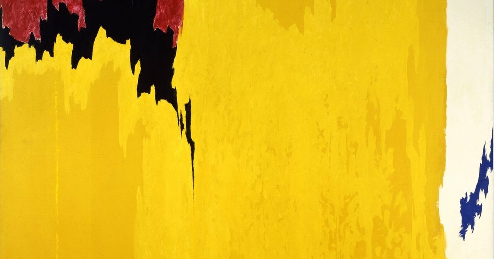 Clyfford Still  |  PH-971  |  Oil on Canvas  |  113 1/4 x 148 x 2 1/4 in.  |  ©City & County of Denver