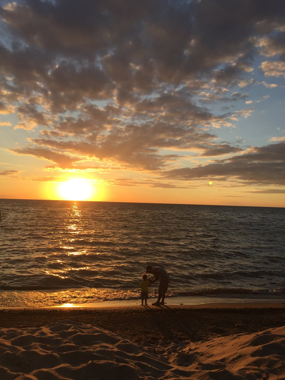 Lake Michigan sunset | July | Weko Beach/Bridgman, MI