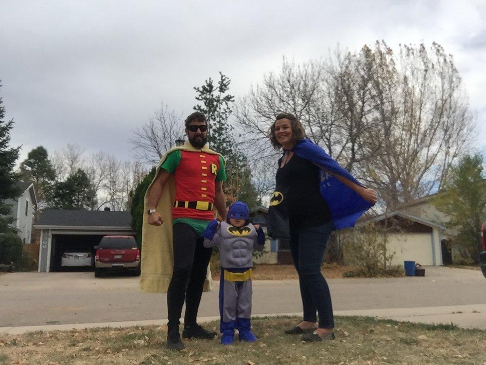 Robin, Batman & Super Pregnant | October | Fort Collins, CO