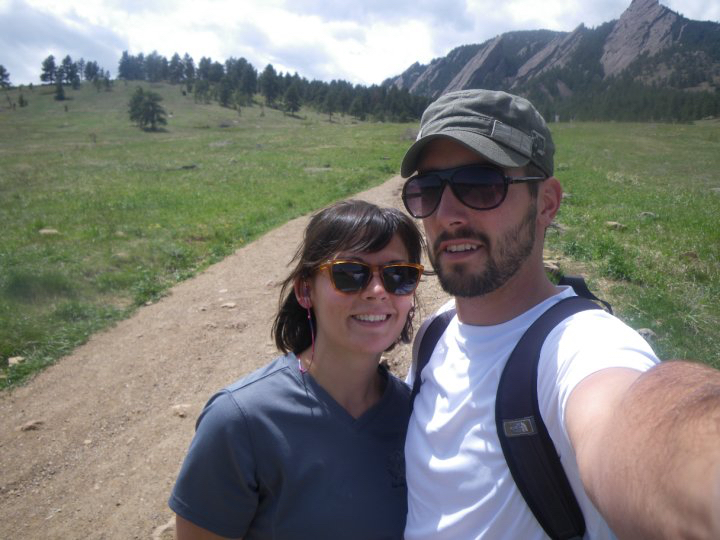 When we first arrived in Boulder after hopping over the pond. - May 2010 - Boulder, Colorado