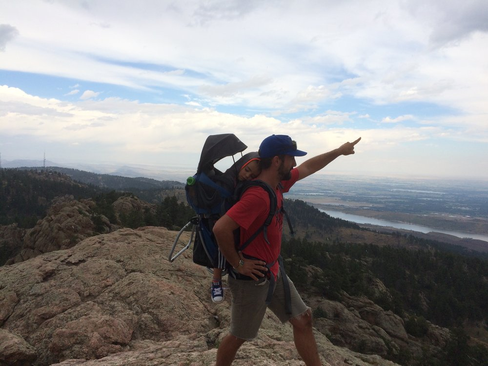Hiking Horsetooth - September 2016 - Fort Collins, Colorado